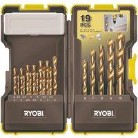 Ryobi Ryobi RAK19HSS 19 Piece HSS Drill Bit Set