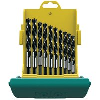 Heller Heller 10 Piece CV Brad Point Wood Bit Set