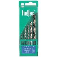Heller Heller 177351 6 Piece Cobalt Drill Set