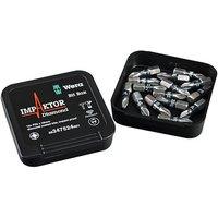 Wera Wera Bit Box Imp X15 Impaktor Pz2/25 Bits