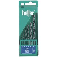 Heller Heller 6pce HSS Twist Drill Set for Metal