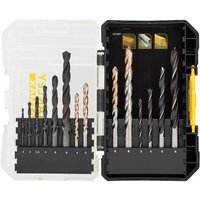 Stanley Stanley 14 PC Masonry/Metal/Wood Drill Bit Set