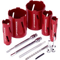 Rothenberger Rothenberger 89020 Dry Diamond Core Drill Kit