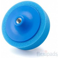 Flexipads Flexipads 44110 150 x 50mm Blue 5/8 Thread Medium Versatile Foam Pad