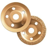 Clarke Clarke CHT589 115mm Carbide Grinding Discs 2 piece set