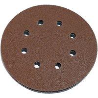 National Abrasives National Abrasives 150mm Aluminium Oxide Sanding Discs   80 Grit