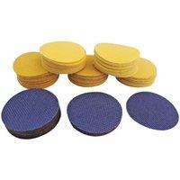 National Abrasives National Abrasives 50mm Assorted Sanding Discs 100 Pack