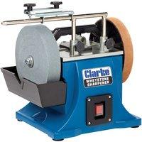 Clarke Clarke CWS200B 200mm Whetstone Sharpener  230V