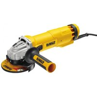 110 Volt DeWalt DWE4206K 115mm Slide Switch Angle Grinder (110V)