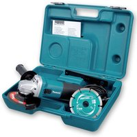 Makita Makita GA4530RKD/1 115mm Angle Grinder With Diamond Disc (110V)