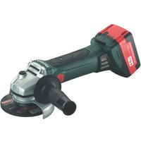 Metabo Metabo W18LTX115 18V 115mm Cordless Angle Grinder  With 2 x 4 0Ah Batteries