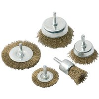 Clarke Clarke CHT563 - 5pce Wire Brush Set