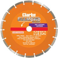 Clarke SSD230 Diamond Blade 230mm