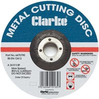 Clarke Clarke 4.5 Metal Cutting Disc