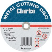 Clarke Clarke 9 Metal Cutting Disc