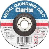 Clarke Clarke 4 Metal Grinding Disc
