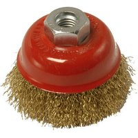National Abrasives 85mm Crimped Wire Brush (M14)