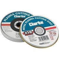 Clarke Clarke PD3 Plasma Metal Cutting Discs 10 Pack