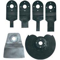Machine Mart Xtra Einhell 44.650.10 6 Piece Multi-Tool Starter Kit For EINBTMG180
