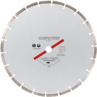 Machine Mart 300mm  12   Segmented Silver Diamond Dry Cutting Disc