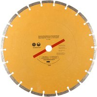 Machine Mart 300mm  12   Segmented Gold Diamond Dry Cutting Disc