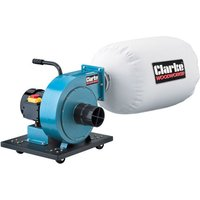 'Clarke Clarke Cde35b Portable Dust Extractor & Chip Collector (230v)