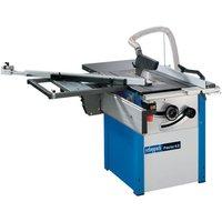 Machine Mart Xtra Scheppach Precisa 4 0 270mm Precision Tilt Arbor Circular Sawbench With Sliding Carriage  230V