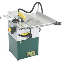 Record Power Record Power TS250C PK A 10  Cast Iron Cabinet Makers Saw  Sliding Beam   Right Hand Extension  230V