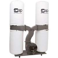 SIP SIP 3HP Double Bag Dust Collector  230V