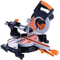 Machine Mart Xtra Evolution RAGE 3 S300 210mm Multipurpose Sliding Mitre Saw  110V