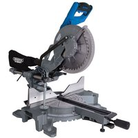 Draper Draper SMS255E 255mm Double Bevel Sliding Compound Mitre Saw  230V