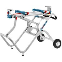 Machine Mart Xtra Bosch GTA2500W Transport and Workbench for Table Saw