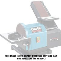 Clarke Pack Of 5 Sanding Discs For Clarke CS48 Belt And Disc Sander (Fine)