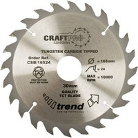 Trend Trend CSB 31524 Craft Saw Blade 315mm X 24 Teeth X 30mm