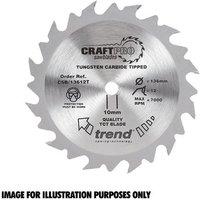 Trend Trend CSB 13624TA Craft Saw Blade 136x20mm 24T
