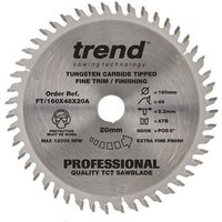 Trend Trend FT Saw Blade 160x20mm 48T