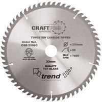 Trend Trend CSB 19060 Craft Saw Blade 190x30mm 60T