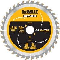 DeWalt DeWalt XR FlexVolt DT99569 QZ Saw Blade 216x30mm 36T