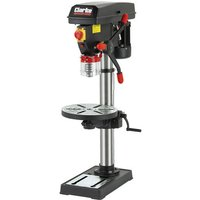 Back In Stock Clarke CDP302B 16 Speed Bench Drill Press with Round Table (230V)