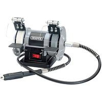 Draper Draper GD50W 3 Mini Bench Grinder with Flexible Drive Shaft (230V)