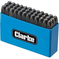 Clarke Clarke ET105 4mm Letter and Figure Set