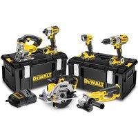 New Dewalt DCK694P3 G 18V Brushless 6 Piece Kit  3 batteries    2 x Kitboxes
