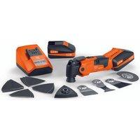 Fein Fein MultiMaster AFMM18QSL 18V Cordless Multi Tool Kit 2x2 5Ah Batteries