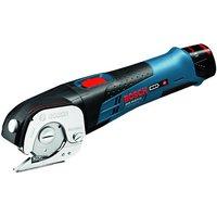 Machine Mart Xtra Bosch GUS 10.8 V-LI Professional Cordless Universal Shear, 2x2.0AH Batteries & L-BOXX