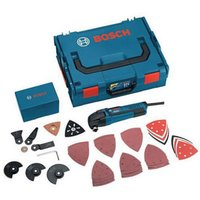 Machine Mart Xtra Bosch GOP250CE Professional Multi Tool Kit With L Boxx  110V