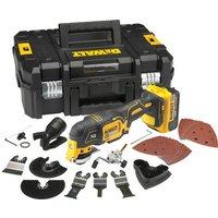 Machine Mart Xtra DeWalt DCS355M2 18V Cordless Multi cutter 2 x 4Ah XR Li Ion batteries   Kitbox