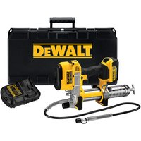 Machine Mart Xtra DeWalt DCGG571M1 Grease Gun 18V With 1 Battery