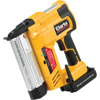 Clarke Contractor Clarke Contractor CONSN18LiC 18V Li Ion Stapler Nailer with 1x2 0Ah Battery