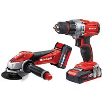 Einhell Power X-Change Einhell Power X-Change TE-TK 18V Drill Driver and Angle Grinder Kit
