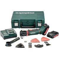 Metabo Metabo MT 18 LTX Compact Cordless Multi Tool with 2x2 0Ah Batteries